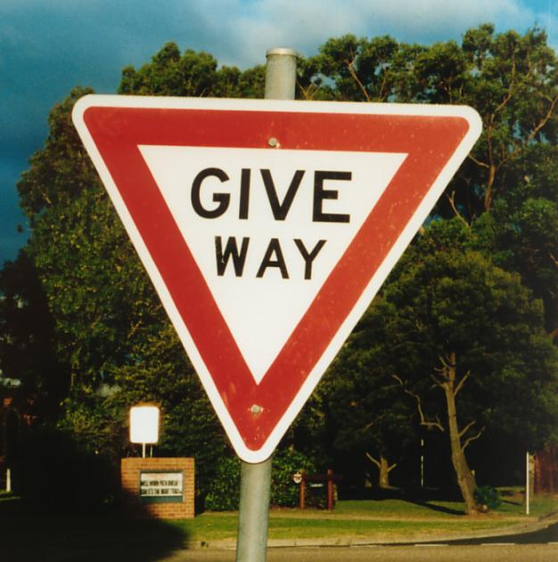 Image result for give way